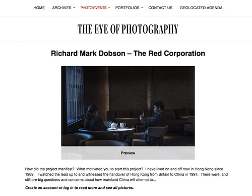 The Eye of Photography.  The Red Corporation